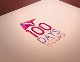 #25 para Logo Design for 100 Days to Launch por codigoccafe