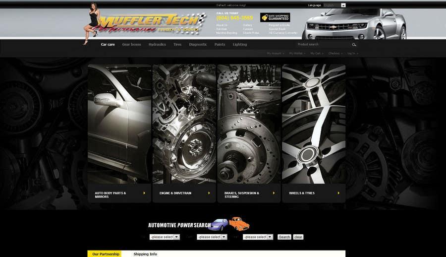 Inscrição nº 4 do Concurso para Graphic Design for Muffler Tech