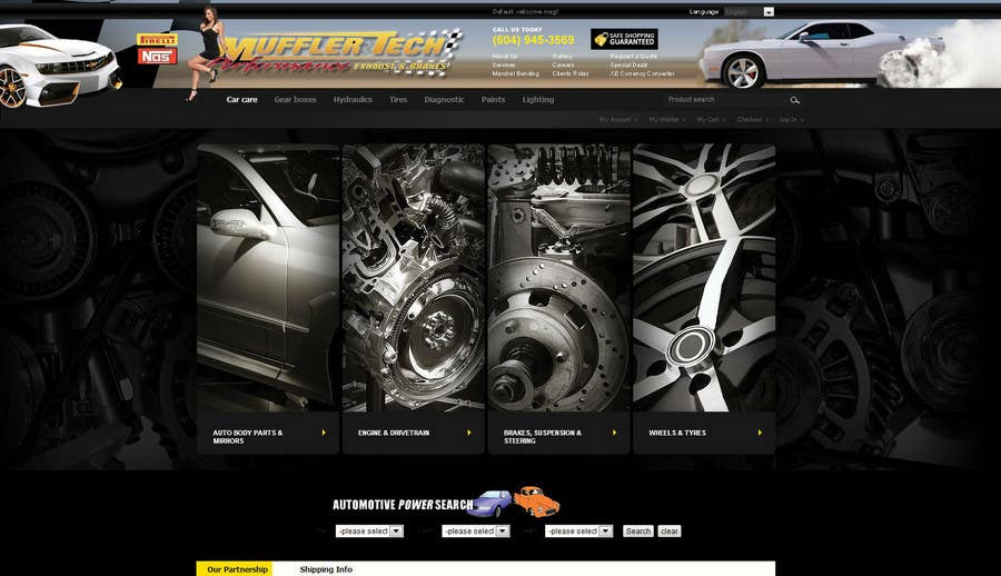 Entri Kontes #                                        6                                      untuk                                        Graphic Design for Muffler Tech
