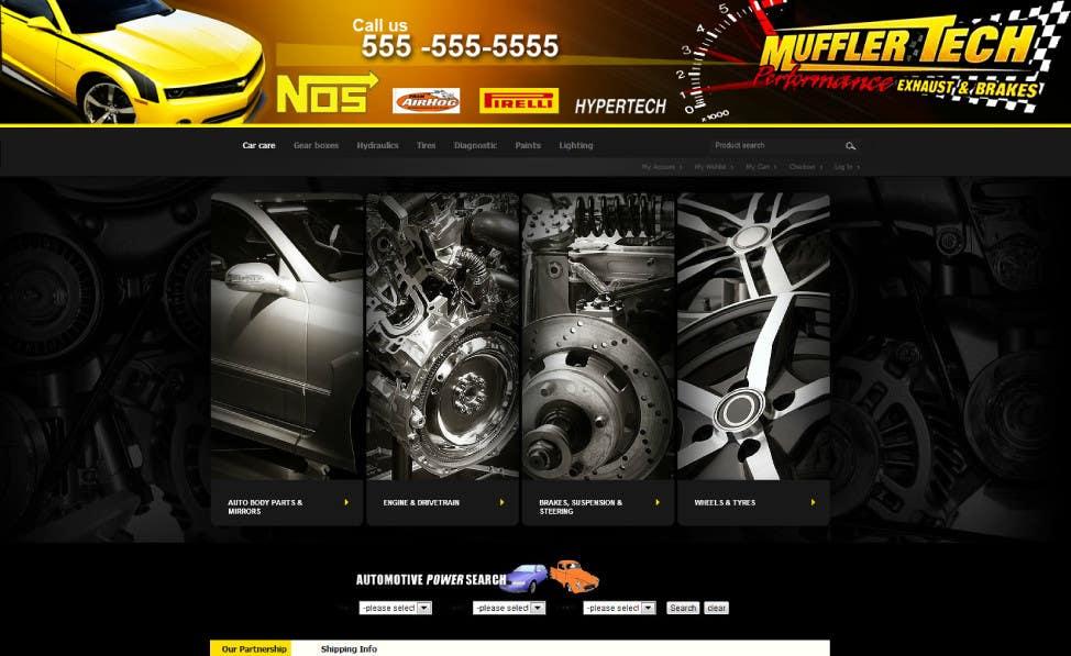 Entri Kontes #                                        17                                      untuk                                        Graphic Design for Muffler Tech