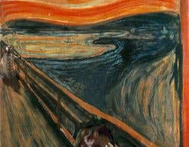 "#27 for Custom ""The Scream"" design. A few changes in original painting. by kangian"