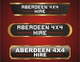 #21 for Design a Logo for Aberdeen 4x4 Hire af mahinona4