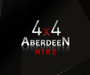 Proposition n°                                        24                                      du concours                                         Design a Logo for Aberdeen 4x4 Hire