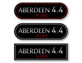 #26 for Design a Logo for Aberdeen 4x4 Hire by rodolfoBK