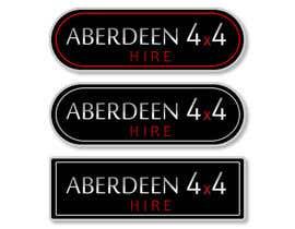 nº 26 pour Design a Logo for Aberdeen 4x4 Hire par rodolfoBK