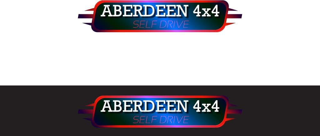 Konkurrenceindlæg #                                        3                                      for                                         Design a Logo for Aberdeen 4x4 Hire