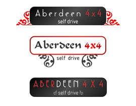 nº 23 pour Design a Logo for Aberdeen 4x4 Hire par ashraftippu