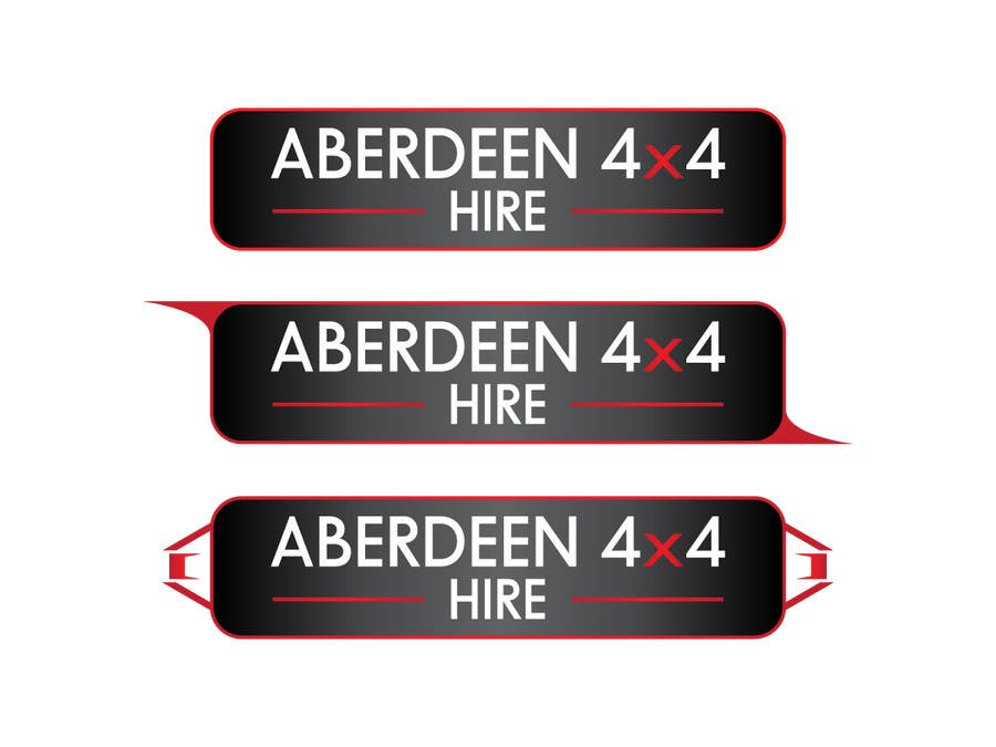 Konkurrenceindlæg #                                        13                                      for                                         Design a Logo for Aberdeen 4x4 Hire