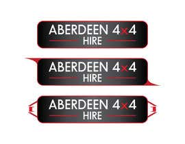 #13 for Design a Logo for Aberdeen 4x4 Hire af Dzery