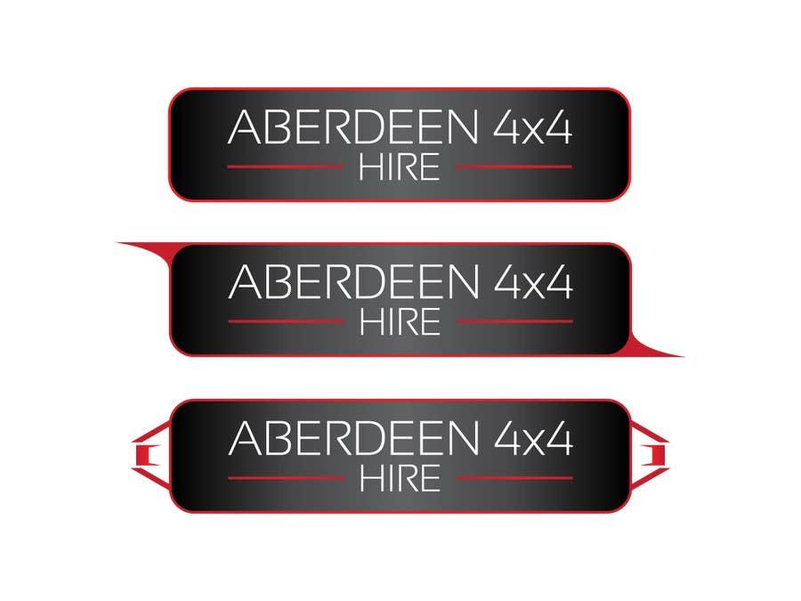 Konkurrenceindlæg #                                        16                                      for                                         Design a Logo for Aberdeen 4x4 Hire
