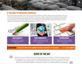#4 untuk Build a Website for Singhaniachemicals oleh aayomiyadav