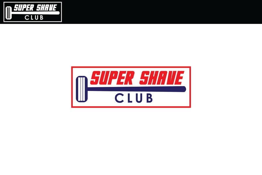 """Inscrição nº 23 do Concurso para Design a Logo for """"Super Shaver Club"""""""
