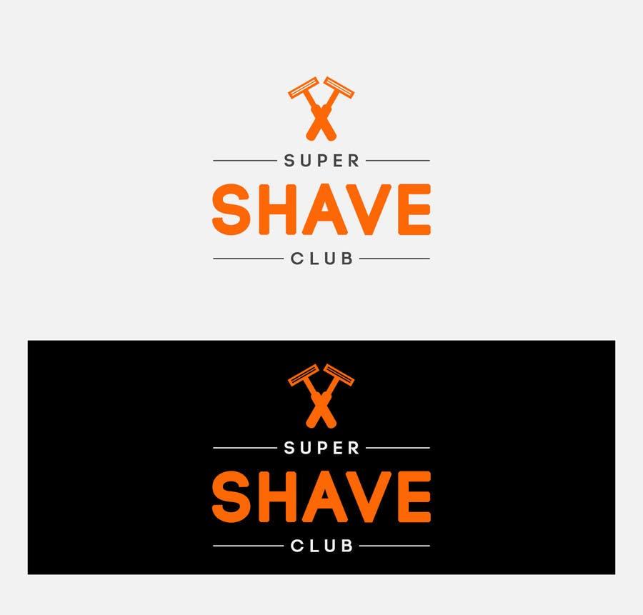 """Contest Entry #                                        27                                      for                                         Design a Logo for """"Super Shaver Club"""""""