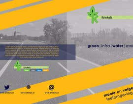 #7 for Design a frontpage for a brochure by dakimiki