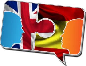 Nro 6 kilpailuun Logotipo para un traduccion a tiempo real con otras personas käyttäjältä brendamx
