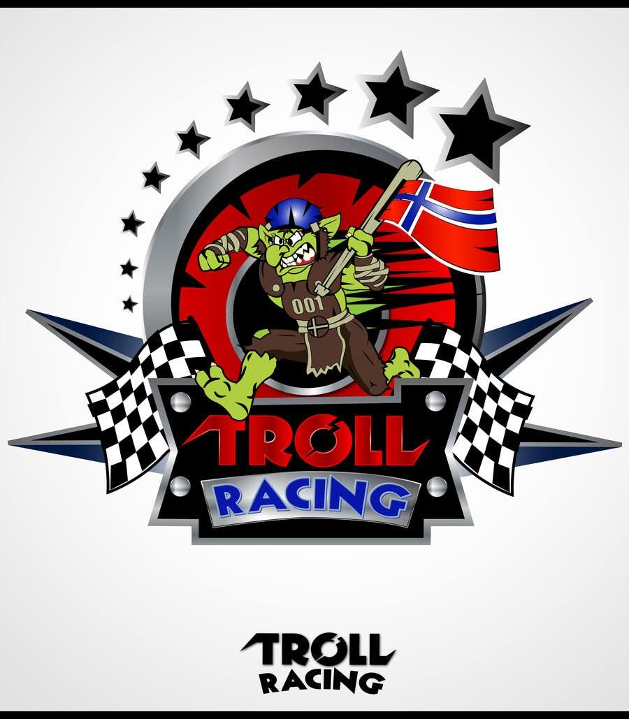 Bài tham dự cuộc thi #                                        168                                      cho                                         Troll Racing needs logo!