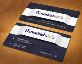 #66 untuk Design some Business Cards for IT Market oleh akhi1sl