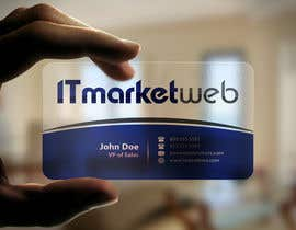 #58 untuk Design some Business Cards for IT Market oleh mamun313
