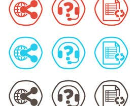 #12 for Design some Icons for Course Website af chatl94