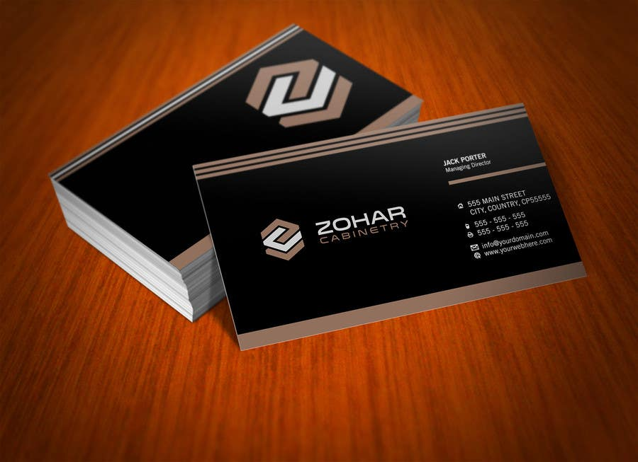 Kilpailutyö #392 kilpailussa Design a Logo for Zohar Cabinetry