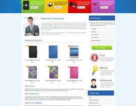 nº 22 pour Single page design for webpage par cromasolutions
