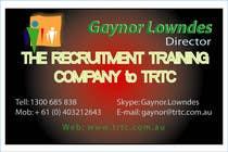 Participación Nro. 29 de concurso de Graphic Design para Logo Design for TRTC - Recruiter Training and Development