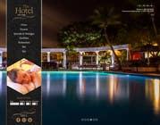 Graphic Design Konkurrenceindlæg #24 for Design a Website Mockup for Hotel