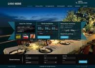 Graphic Design Konkurrenceindlæg #37 for Design a Website Mockup for Hotel