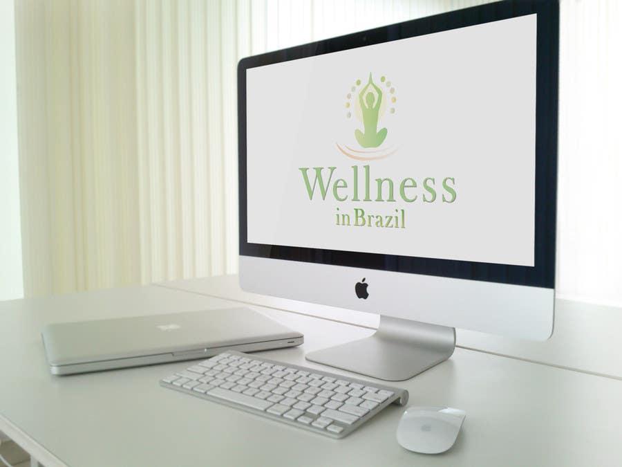 Penyertaan Peraduan #12 untuk Projetar um Logo for WellnessinBrazil
