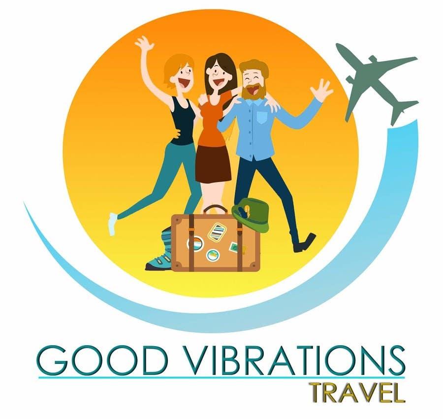Konkurrenceindlæg #                                        31                                      for                                         Good Vibrations Travel Logo