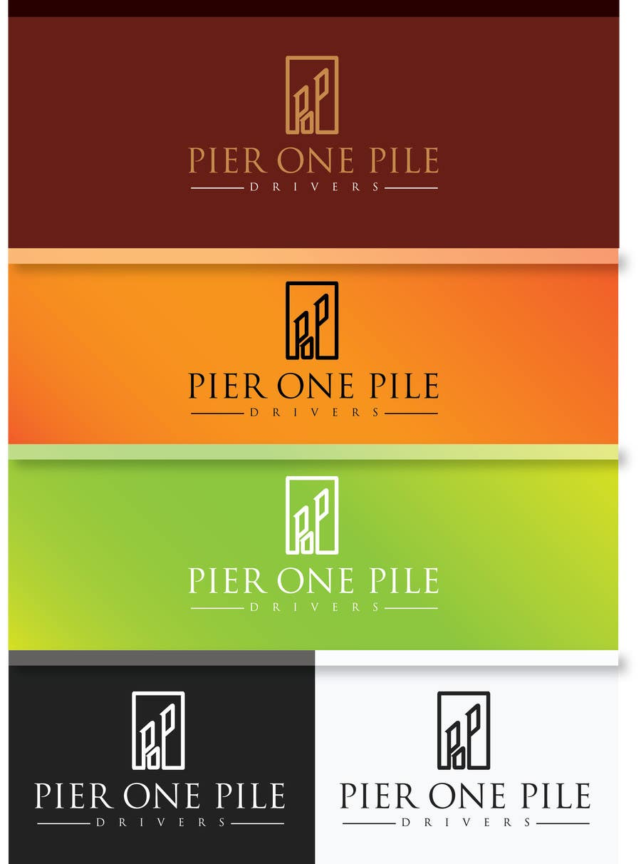 Proposition n°9 du concours Design a Logo for Contractor (Pier One Pile Drivers)