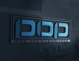 #23 para Design a Logo for Contractor (Pier One Pile Drivers) por vladspataroiu