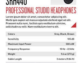 #6 untuk I need some Graphic Design for Retail Tag Template for Headphone Listening Bar oleh marcellopcruz