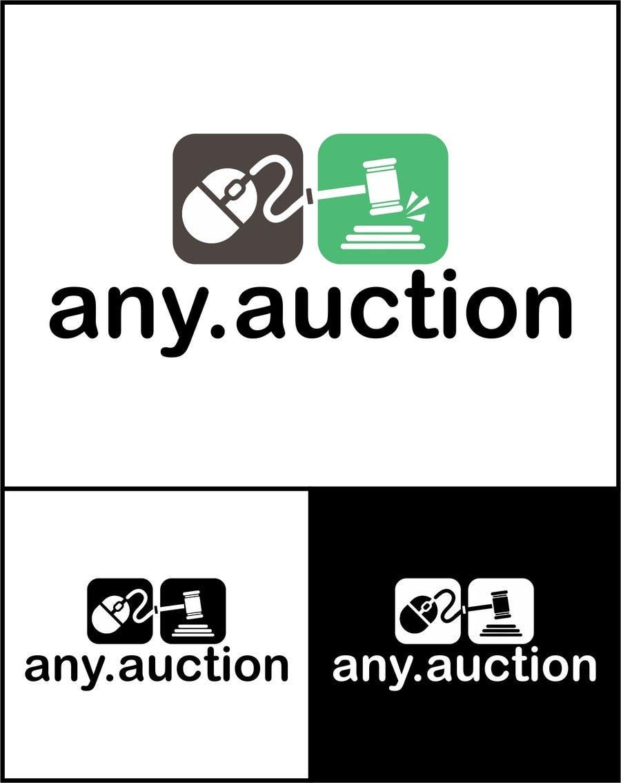 Proposition n°                                        35                                      du concours                                         Design a logo for an online auction website
