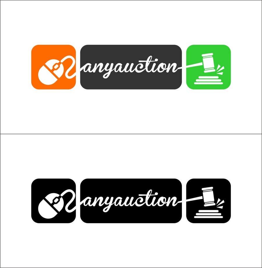 Proposition n°                                        78                                      du concours                                         Design a logo for an online auction website