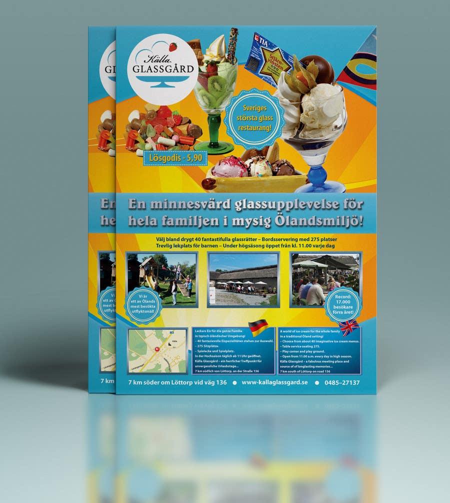 Inscrição nº 3 do Concurso para Design a flyer for ice cream restaurant.