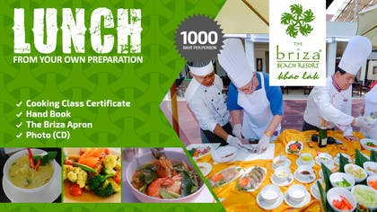 #35 untuk Design a Flyer for Briza Khaolak Beach Resort oleh xpertsart