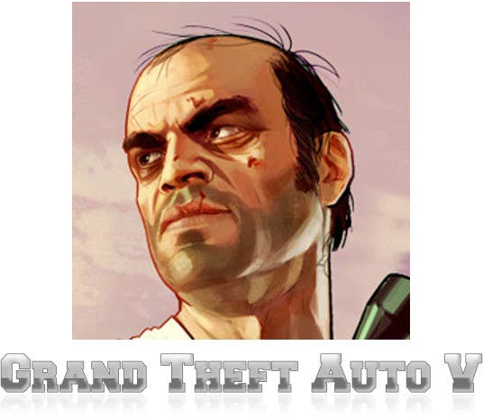 "Contest Entry #                                        3                                      for                                         Illustrate a provided character in ""Grand Theft Auto V""  poster style."
