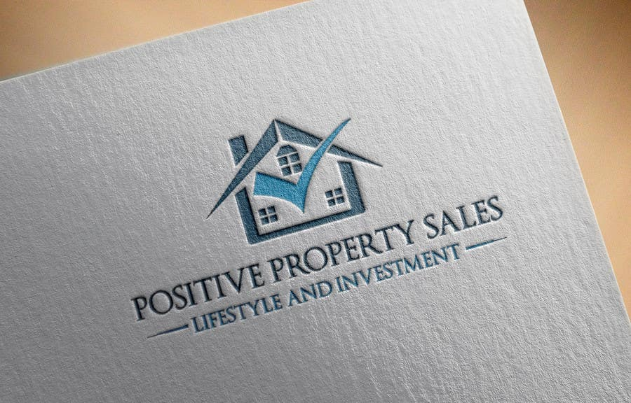 Proposition n°                                        32                                      du concours                                         Design a Logo for Positive Property Sales (positivepropertysales.com)