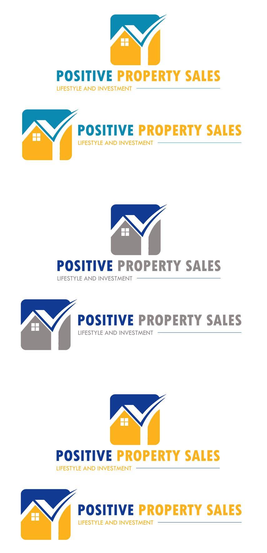 Proposition n°                                        61                                      du concours                                         Design a Logo for Positive Property Sales (positivepropertysales.com)