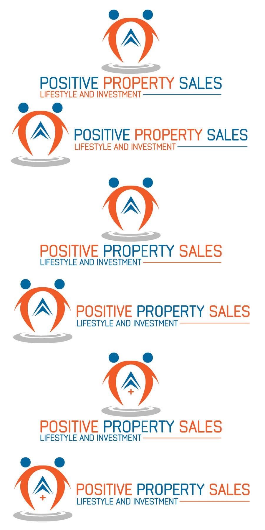 Proposition n°                                        66                                      du concours                                         Design a Logo for Positive Property Sales (positivepropertysales.com)