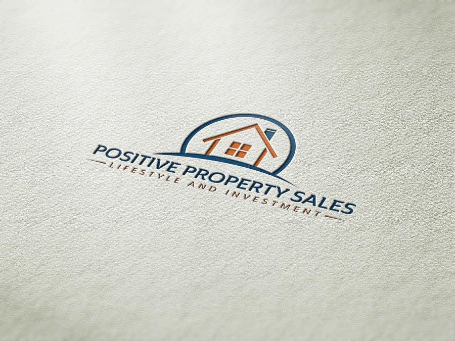 Proposition n°                                        12                                      du concours                                         Design a Logo for Positive Property Sales (positivepropertysales.com)
