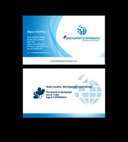 #55 untuk Design some Business Cards for Panamerican Loans oleh paxslg