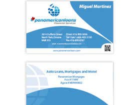 #34 for Design some Business Cards for Panamerican Loans by holecreative