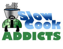 "#6 untuk Design a Logo for ""Slow Cook Addicts"" oleh carriejeziorny"