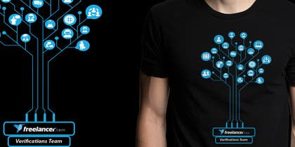 #5 cho Design a T-Shirt for Freelancer.com's Verifications Team bởi ezaz09