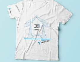 Nro 34 kilpailuun Design a T-Shirt for Freelancer.com's Trust and Safety Team käyttäjältä hristinakrstic88