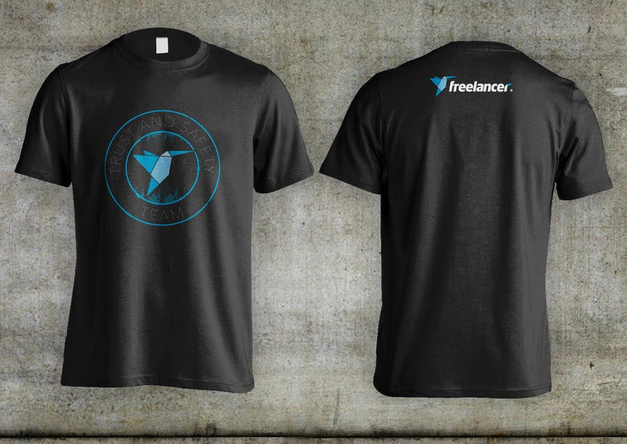 Konkurrenceindlæg #                                        64                                      for                                         Design a T-Shirt for Freelancer.com's Trust and Safety Team