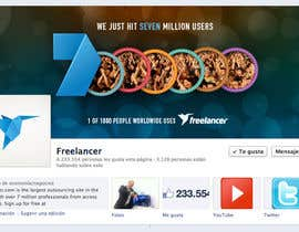 nº 99 pour Design a Banner for Freelancer.com's Facebook Page! par dmoldesign