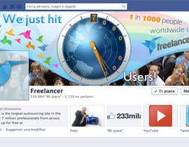 #247 for Design a Banner for Freelancer.com's Facebook Page! by SheryVejdani